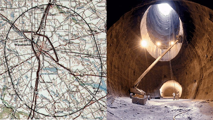 This Is World's Largest Super Collider That Never Was