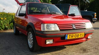 My 1988 Peugeot 205 GTi, a lot of blood sweat and happy tears