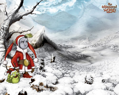 Happy Holidays From The Whispered World