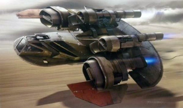 All the Star Wars: The Force Awakens concept art leaked so far