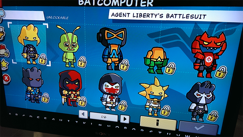 You Have Bested Me, Scribblenauts Unmasked