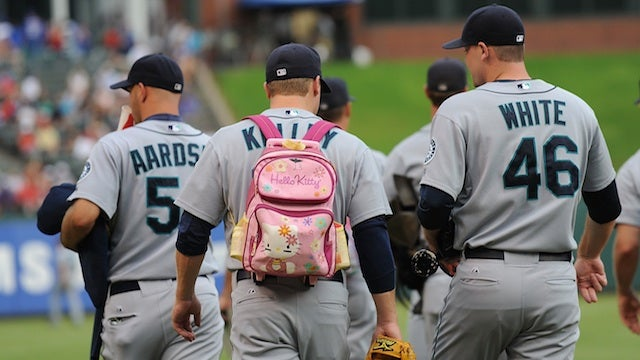 The Politics Of Baseball's Little Pink Backpacks