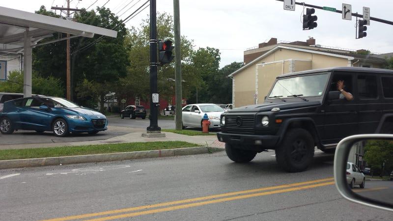 Plasti-Dipped G Wagon?
