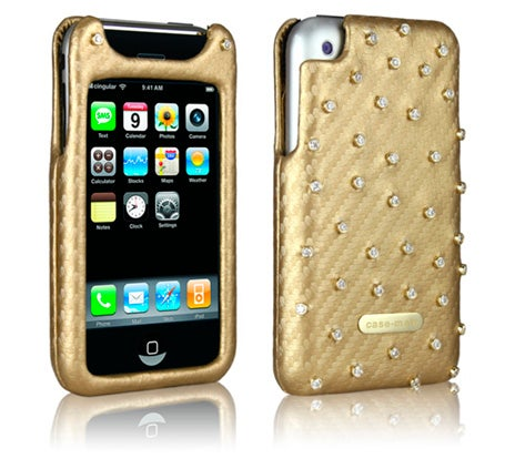 Gold and Diamond iPhone Case Stuns Us With Fugliness