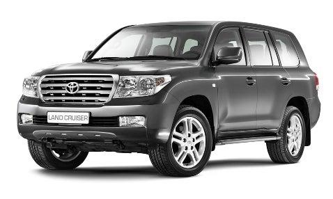2008 Toyota Land Cruiser Revealed