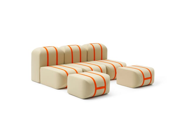 This Shape-Shifting Sofa Stacks Itself Like Suitcases
