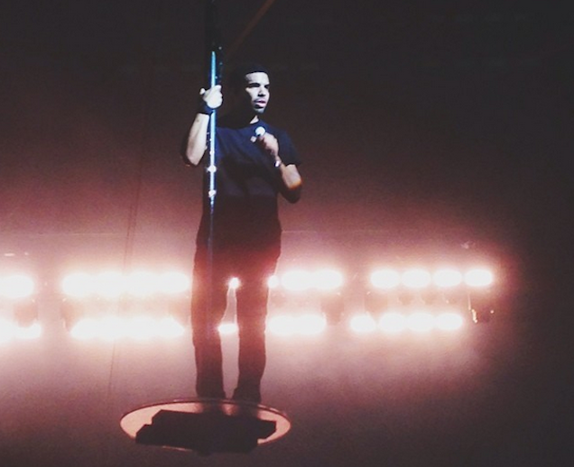 Drake Rode a Flying Stripper Pole Last Night