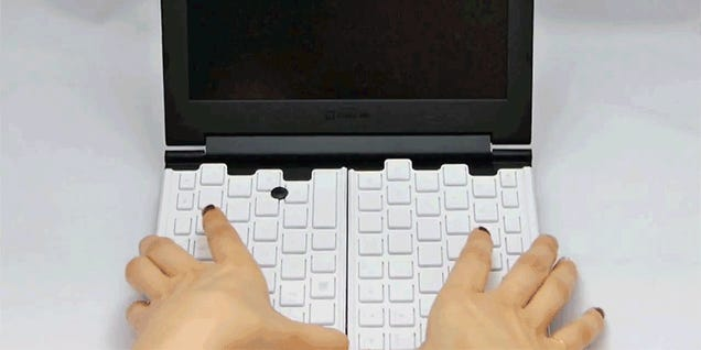 There's a 12-Inch Keyboard Inside This 8-Inch Laptop