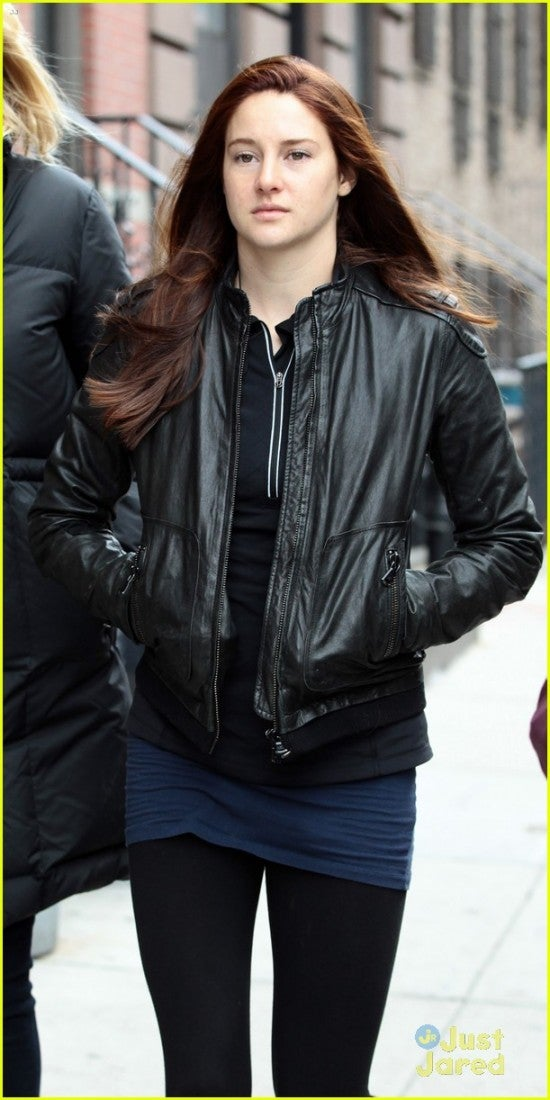 Set Photos of Shailene Woodley as Mary Jane