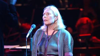 Hospitalized Joni Mitchell Is 'Awake and In Good Spirits'