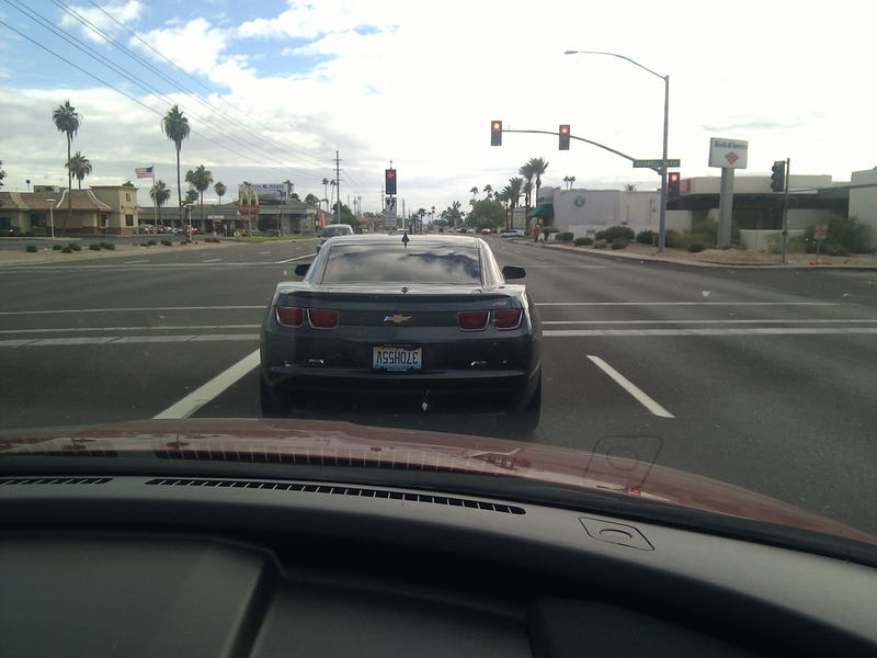 This Camaro Driver's Such A 370H55V!