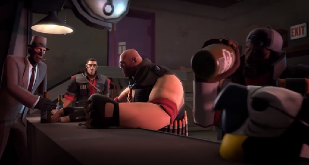 Team Fortress 2 Meets One Of The Most Violent Games Around