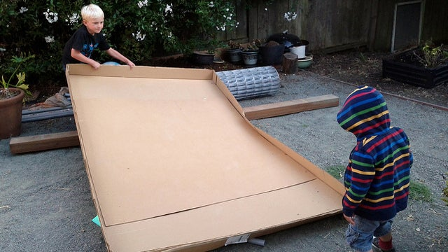 Use Heavy Cardboard for a Free, Recyclable Office Chair Mat