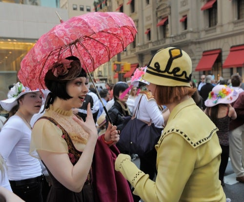 The Glorious Hats Of The Easter Parade