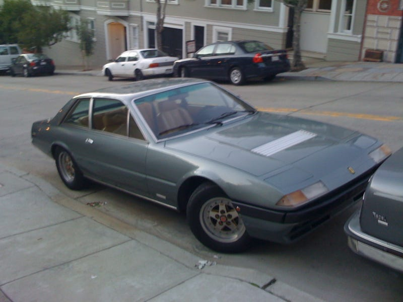 DOTS-O-Rama Sunday, San Francisco Edition: 1978 Ferrari 400