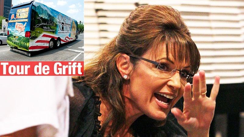 Sarah Palin's Bus Tour Is Back On