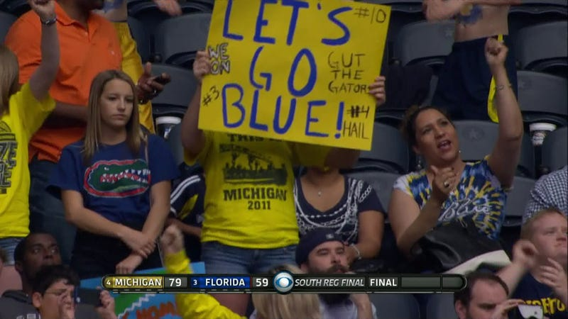 Michigan Destroys Florida For Final Four Berth