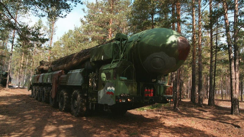 Russia Just Test-Fired An Intercontinental Ballistic Missile