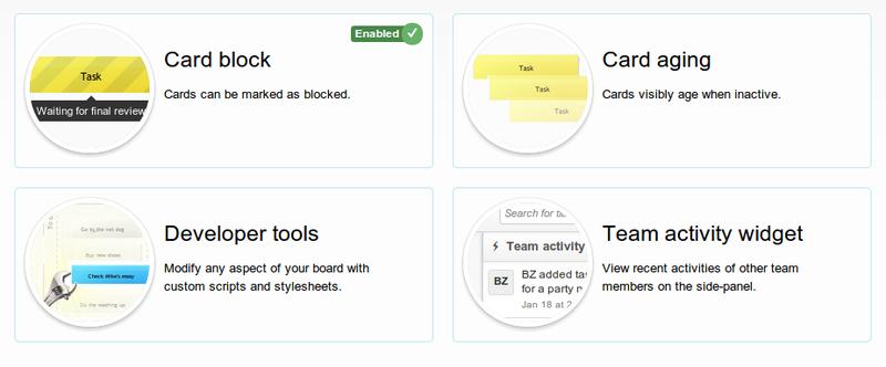 Kanban Tool introduces Power-ups! Organize your work, your way.