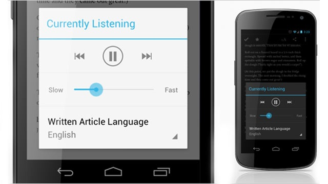 Pocket for Android Reads Your Articles Out Loud to You