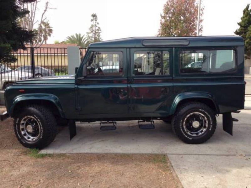 For $22,900, Defender? I Don't Even Know Her!