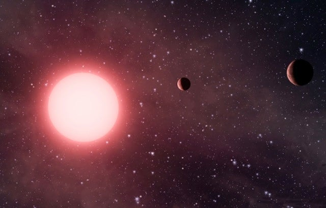 Astronomers have discovered a tilted solar system