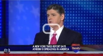 Sean Hannity Dares To Ask: 'Is New York Times Promoting Godlessness?'