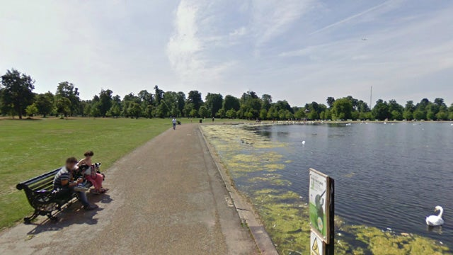 Google Street View Hangs Around in Parks