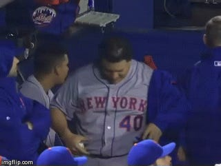 Bartolo Colon Celebrates Strong Start By Jiggling His Belly