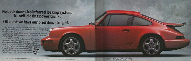 Porsche Had Its Priorities Straight Back In 1993