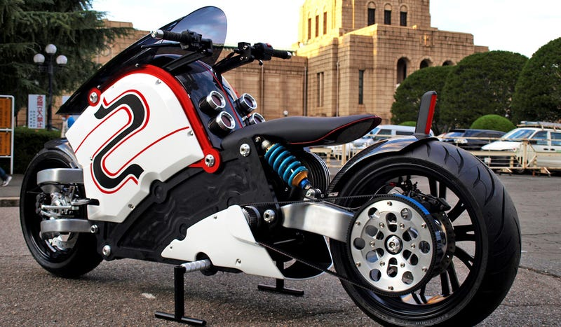 This Stunning Electric Bike Is Like a Jet Fighter On Two Wheels