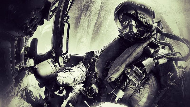 Fighter jet pilot takes badass selfie worthy of a sci-fi nightmare