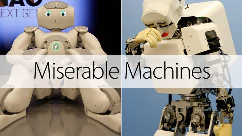 13 Sad Robots