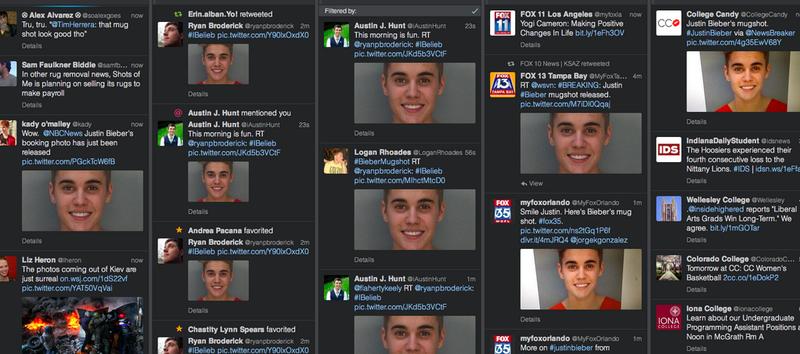 Stop retweeting Justin Bieber's stupid mugshot already