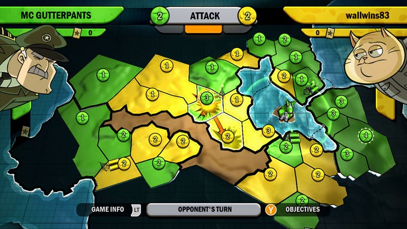 Risk: Factions Review: Cats Vs. Zombies