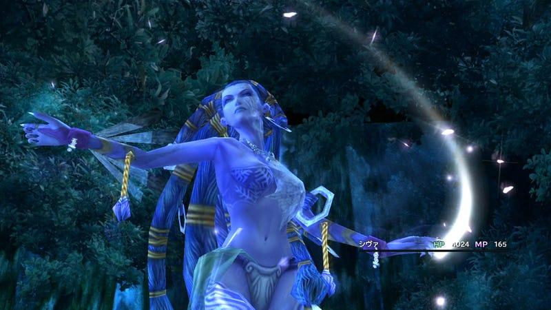 New Final Fantasy X/X-2 HD Screenshots Show A Shiny World