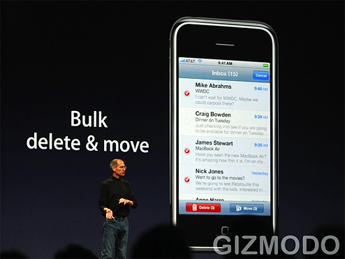 iPhone 2.0 Update to Add Polish (and Apps)