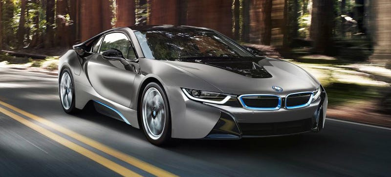 Here's The One-Off BMW i8 Concours d'Elegance Edition For Pebble Beach