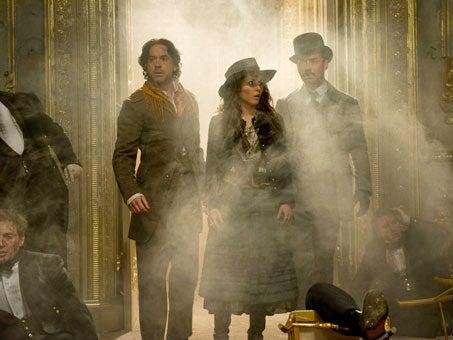 Sherlock Holmes promo photos