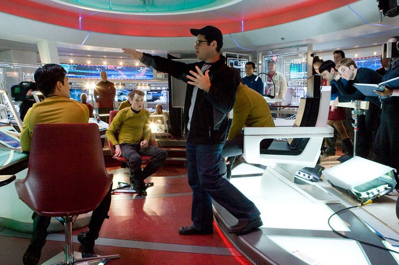 J.J. Abrams Boards the Enterprise
