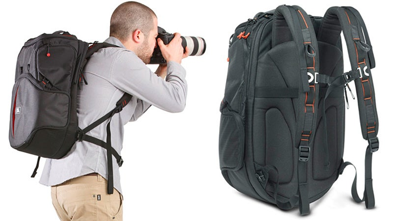 Camera Bag Six-Shooter Provides Easy Lens Access