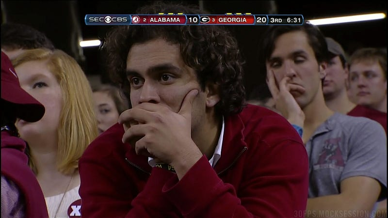 Sad Alabama Fans: A Gallery