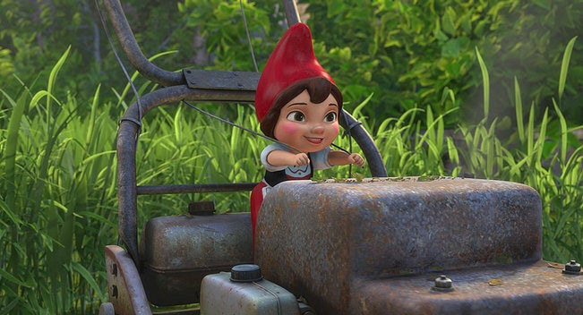 Gnomeo and Juliet is your new Saturday-morning hangover movie