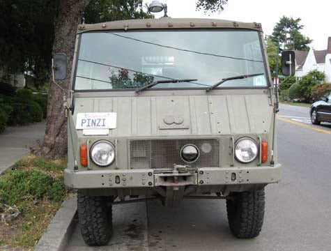 You Wish Your Hummer Could Do This: Pinzgauer!