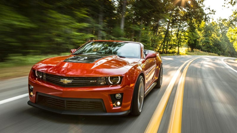 The Chevy Camaro Is America's Most Stolen Sports Car