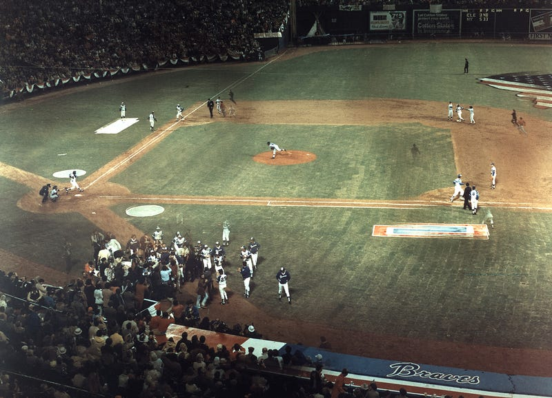 Hank Aaron's 715th Home Run As You've Never Seen It