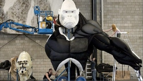 Will the giant robotic King Kong save Broadway from U2's Spider-Man?