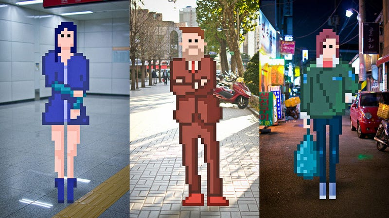 Where Street Fashion Meets Ancient Video Game Art