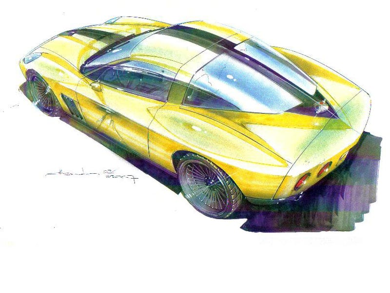 N2A Stinger Mates Retro Style To Modern Corvette Chassis