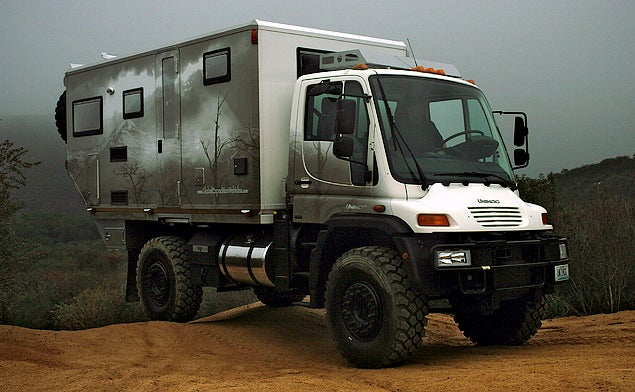 Unimog-Based RV Killed By Emissions Law, Only Two Post-Apocalyptic Land Rafts Left!